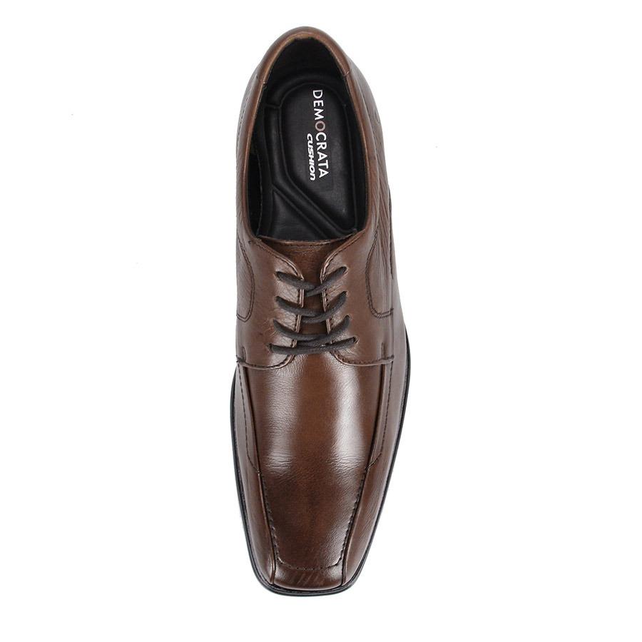 abe4d6cbd sapato social masculino democrata mercury flex - marrom. Carregando zoom.