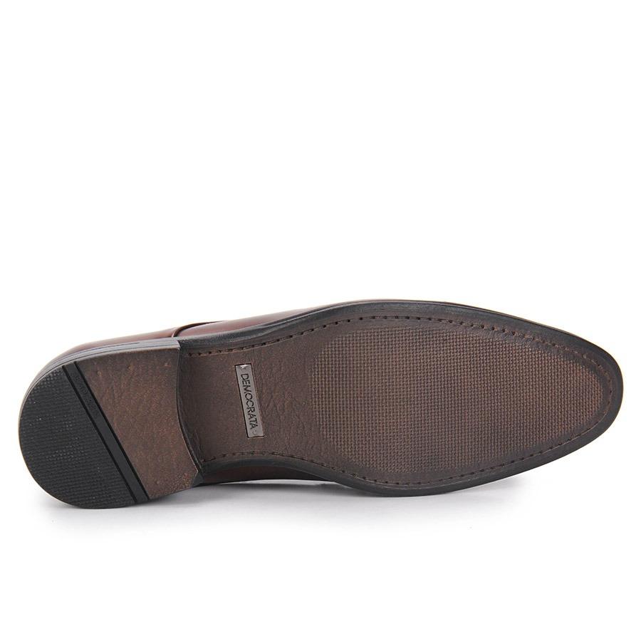 cc1b3b606 sapato social masculino democrata monterrey - marrom. Carregando zoom.