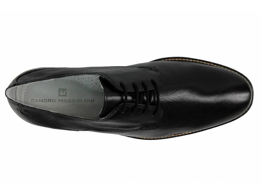 f837c7815b sapato social masculino derby sandro moscoloni brad preto. Carregando zoom.