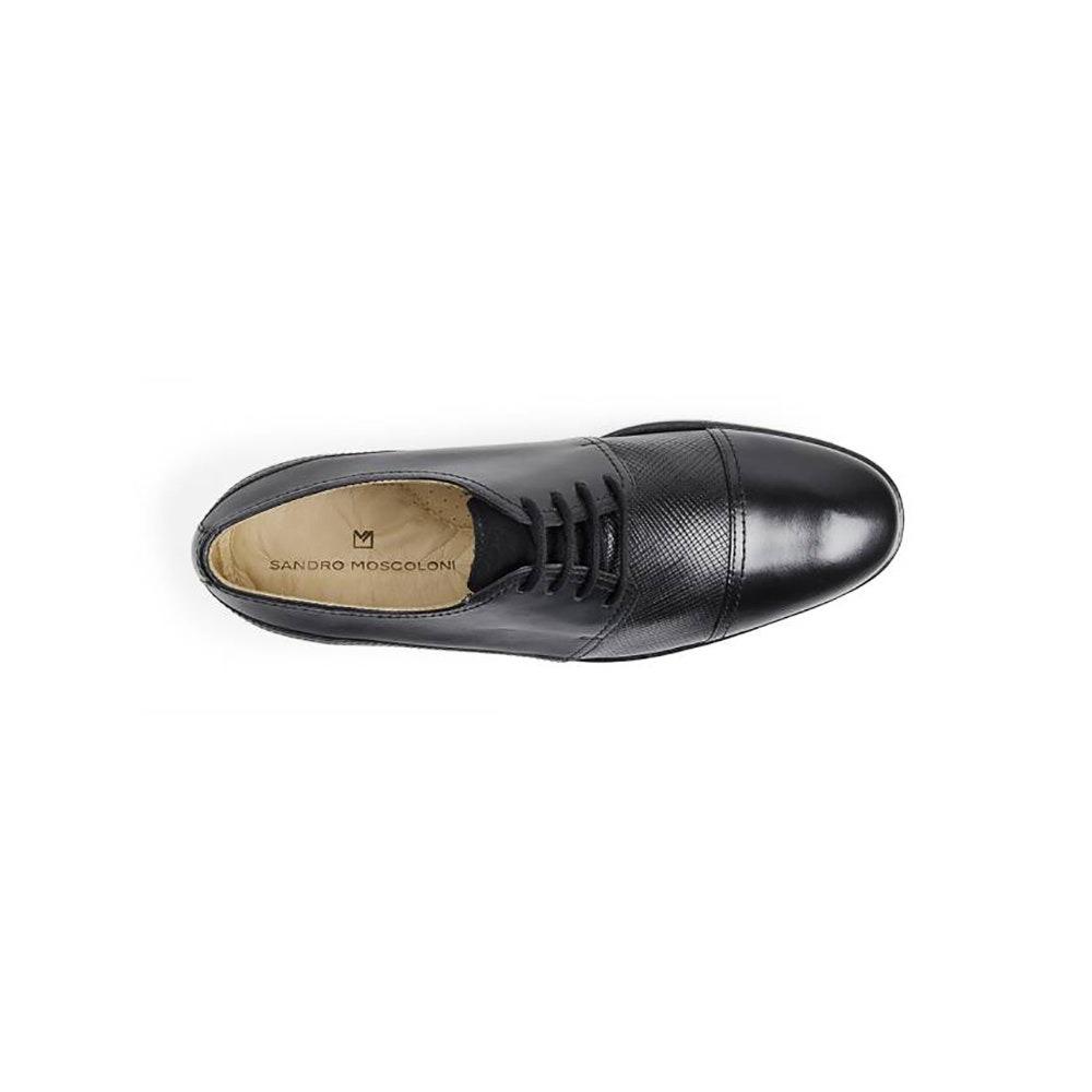 380bdc43bc sapato social masculino derby sandro moscoloni enrico preto. Carregando zoom .