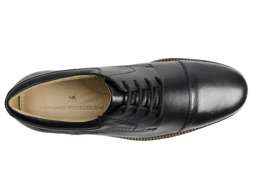 5156fb885d sapato social masculino derby sandro moscoloni jorge preto. Carregando zoom.