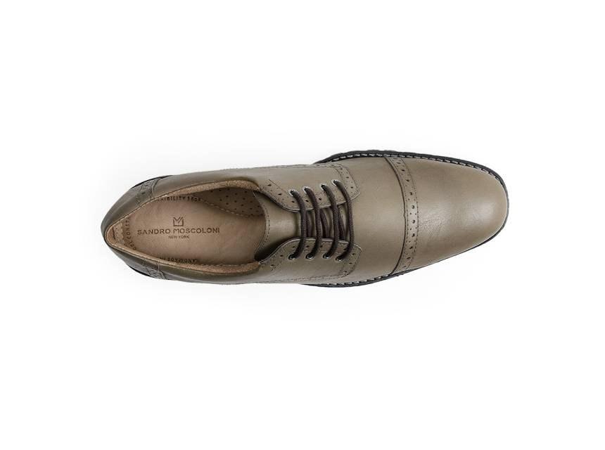 172ed6538 sapato social masculino derby sandro moscoloni markison bege. Carregando  zoom.