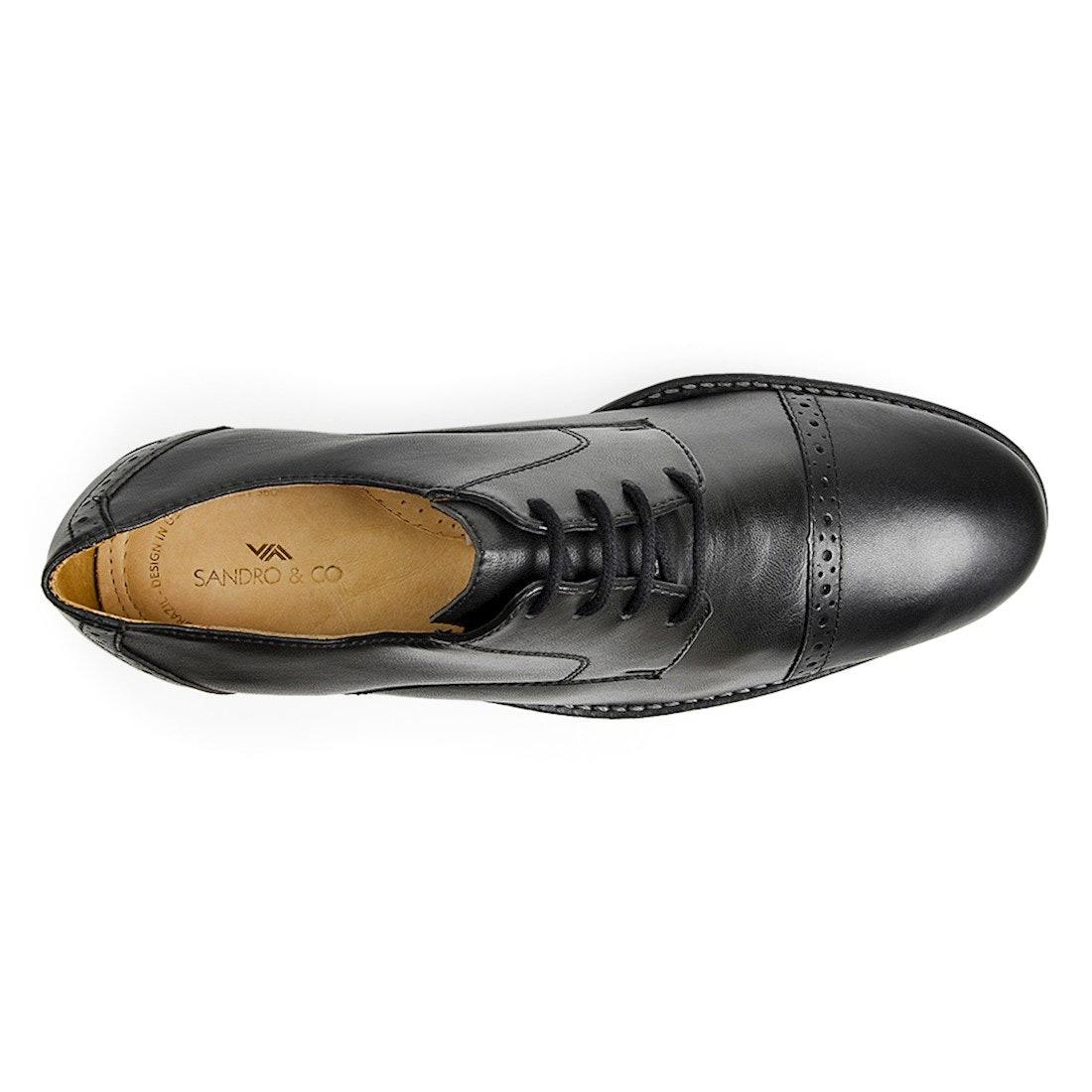 d6b4ba35a7 sapato social masculino derby sandro moscoloni suarez preto. Carregando zoom .
