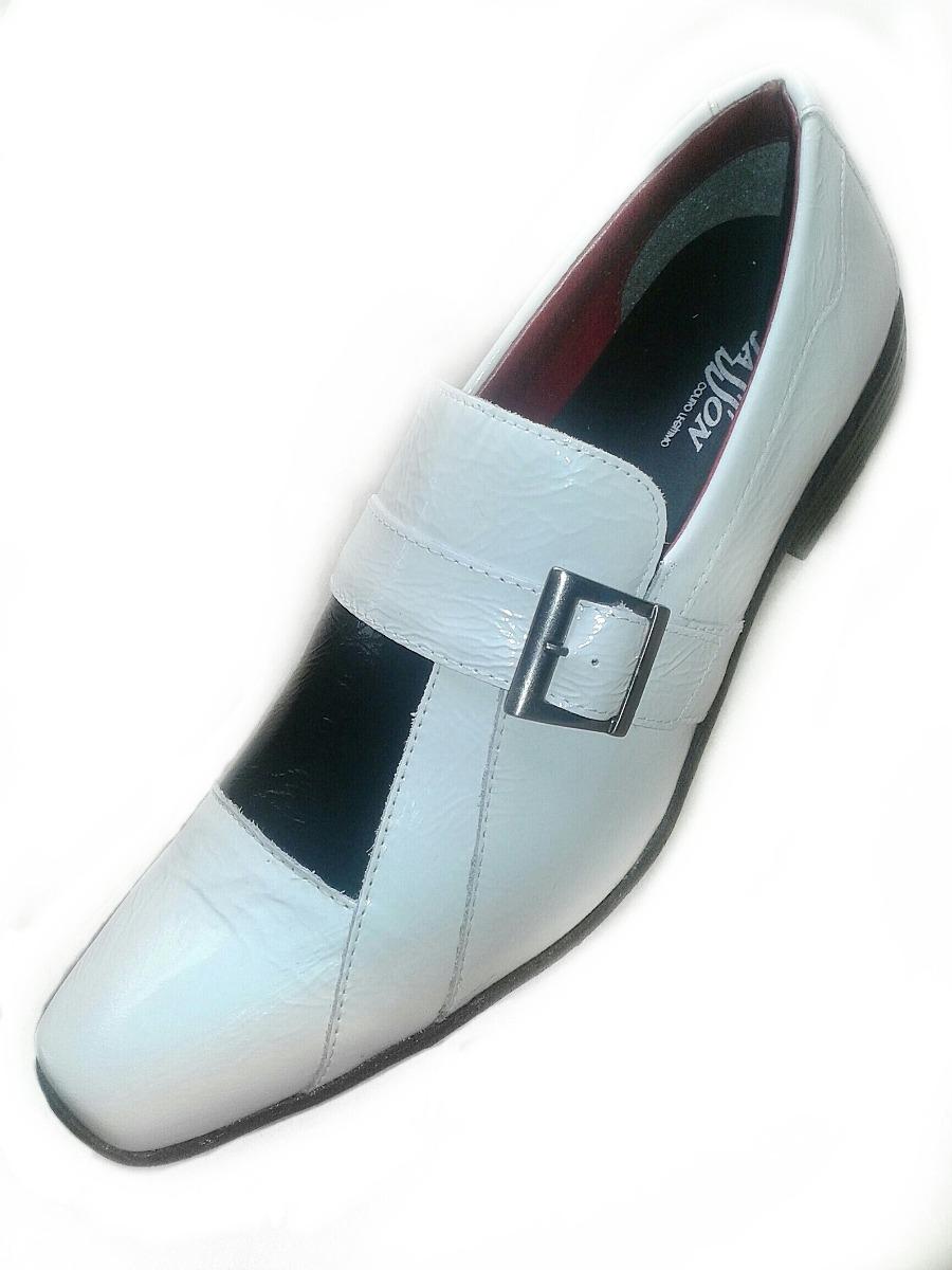 e94a9690a sapato social masculino d'jasson couro legítimo branco. Carregando zoom.