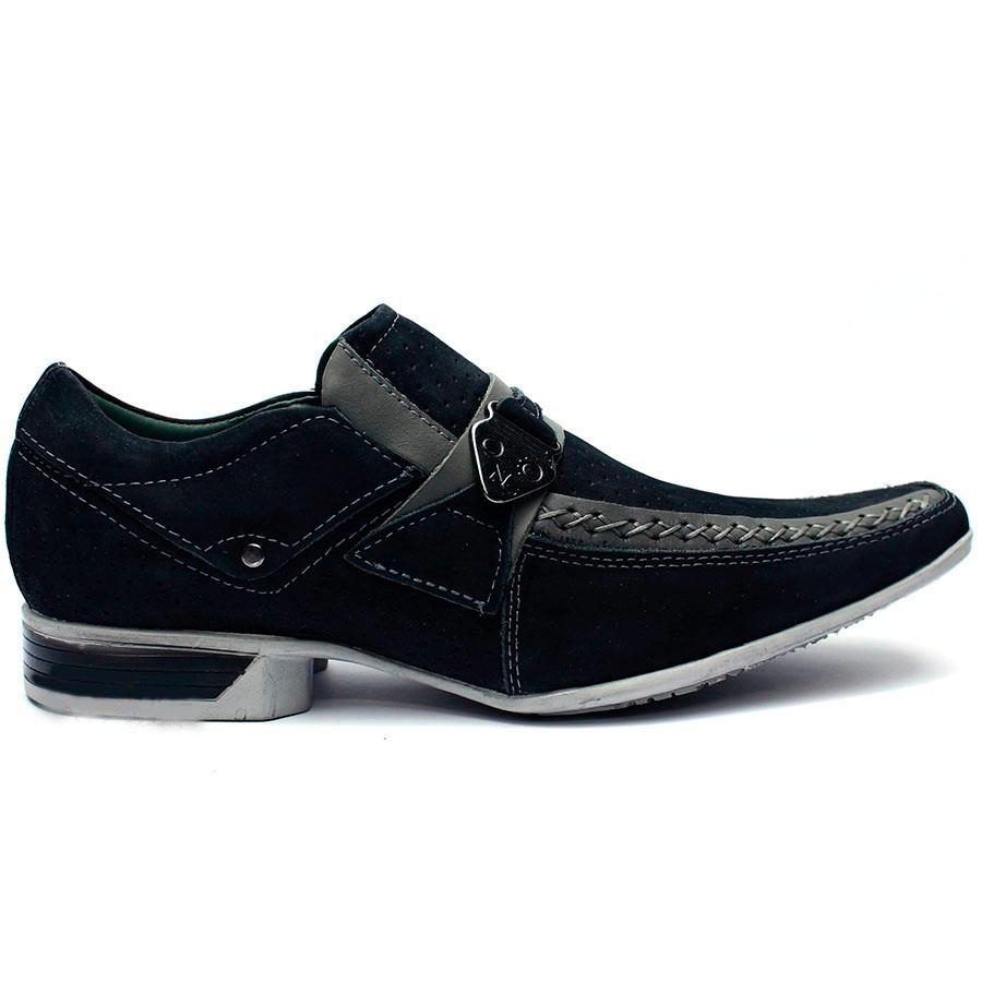717ad56d4 sapato social masculino em couro legitimo dhl calçados. Carregando zoom.