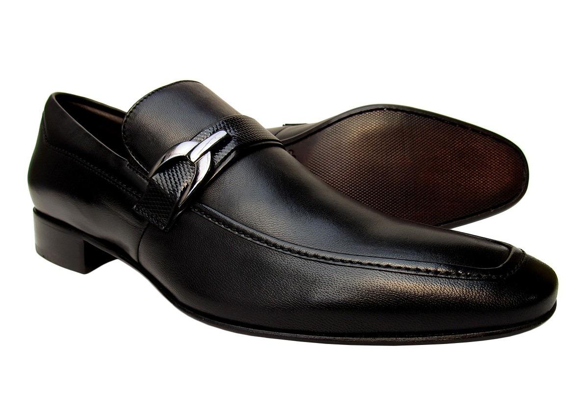 9dc66e42c9 sapato social masculino em couro legítimo solado em couro. Carregando zoom.
