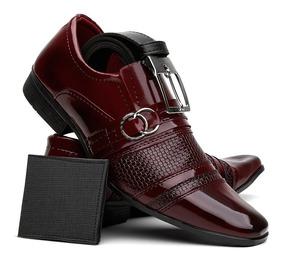 7cbaf7eaa Sapato Social Vermelho Sapatos Sociais - Sapatos para Masculino com ...