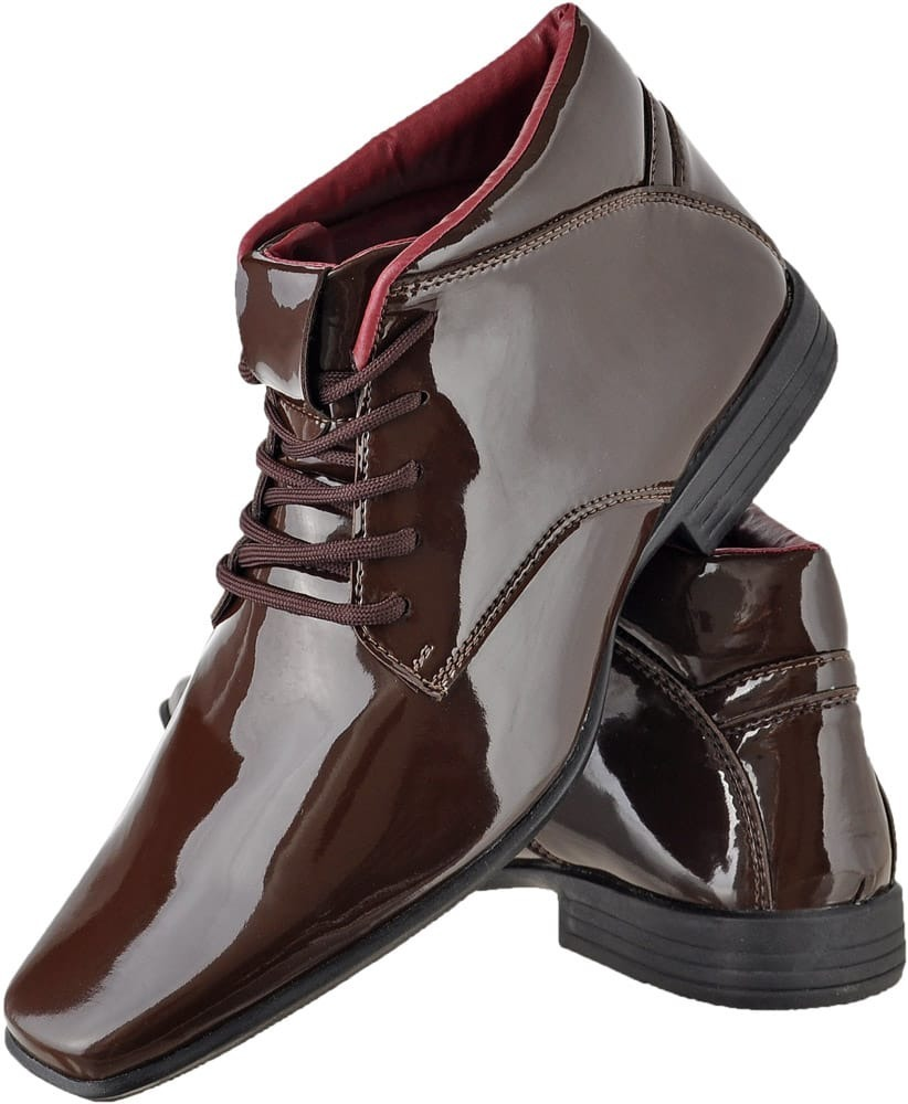 221fb5c061 Sapato Social Masculino Estilo Bota - R$ 89,90 em Mercado Livre