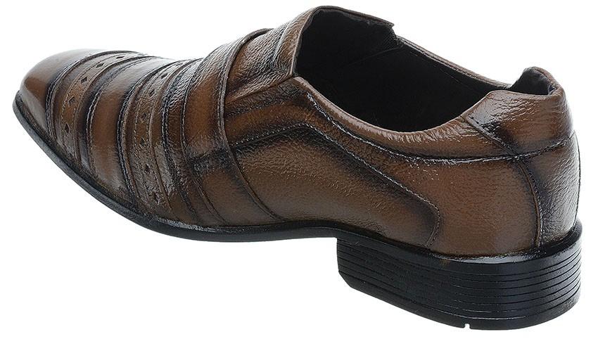 48d7d18fa9 sapato social masculino fearnothi cor marrom. Carregando zoom.