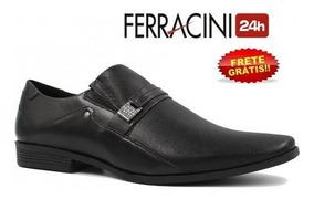 3243c9d0a Sapato Ferracini Florenca Preto - Sapatos com o Melhores Preços no Mercado  Livre Brasil