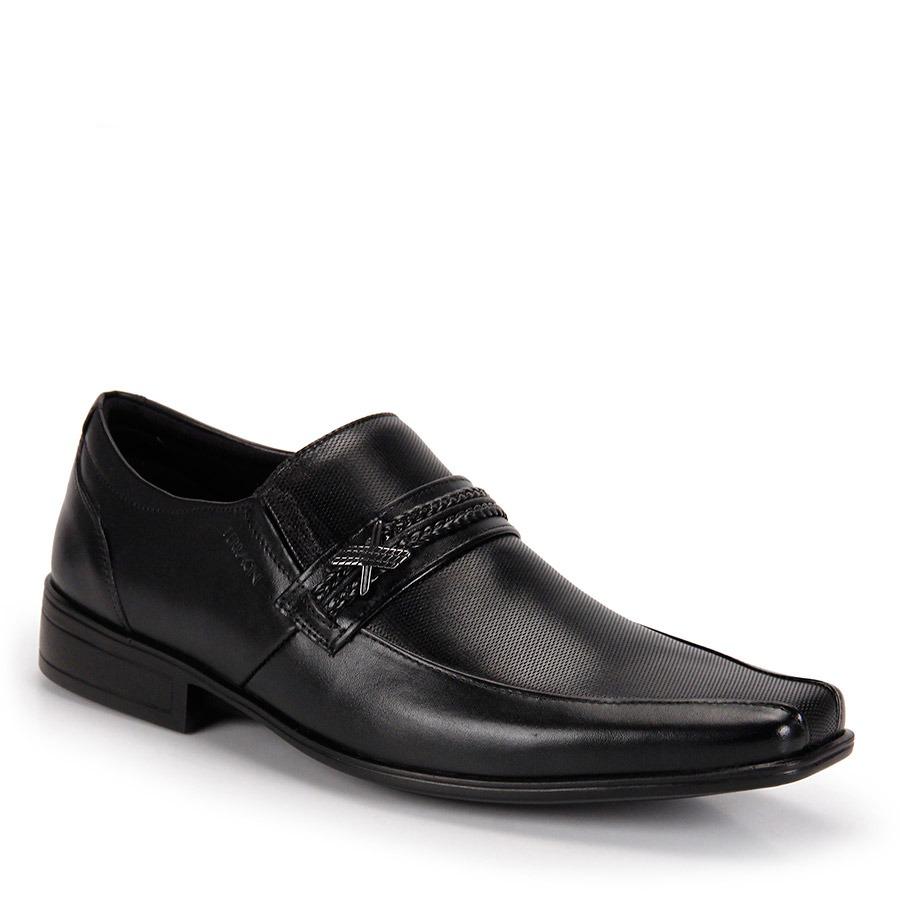 4382a2d7c3 sapato social masculino ferracini bari - preto. Carregando zoom.
