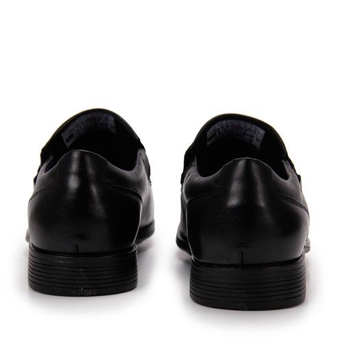sapato social masculino ferracini bragança - preto