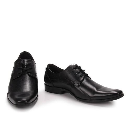 sapato social masculino ferracini firenze - preto