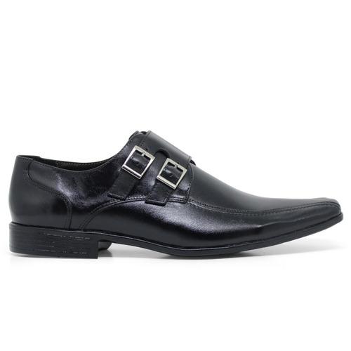 6ea87135ee sapato social masculino fivela couro legítimo promoção 50%. Carregando zoom.