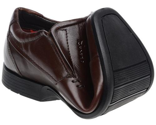 sapato social masculino flexível diabético antiestresse leve