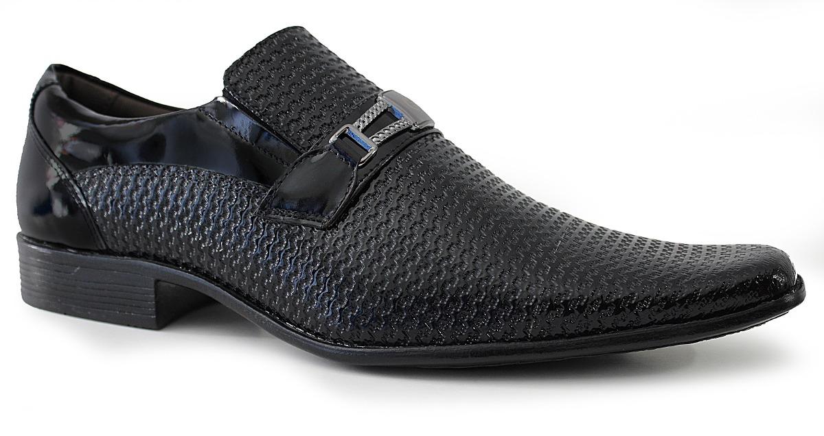 673e6a8538 sapato social masculino italiano couro verniz gofer luxo. Carregando zoom.