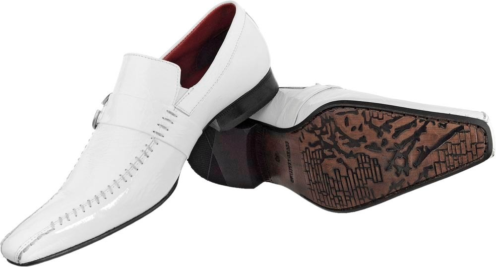 71e6e8678 sapato social masculino italiano em couro verniz de grife. Carregando zoom.