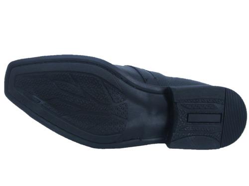 sapato social masculino karrenno 2405 preto - pronta entrega