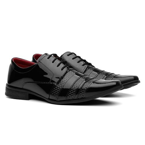 sapato social masculino kit 3 pares mega promoção