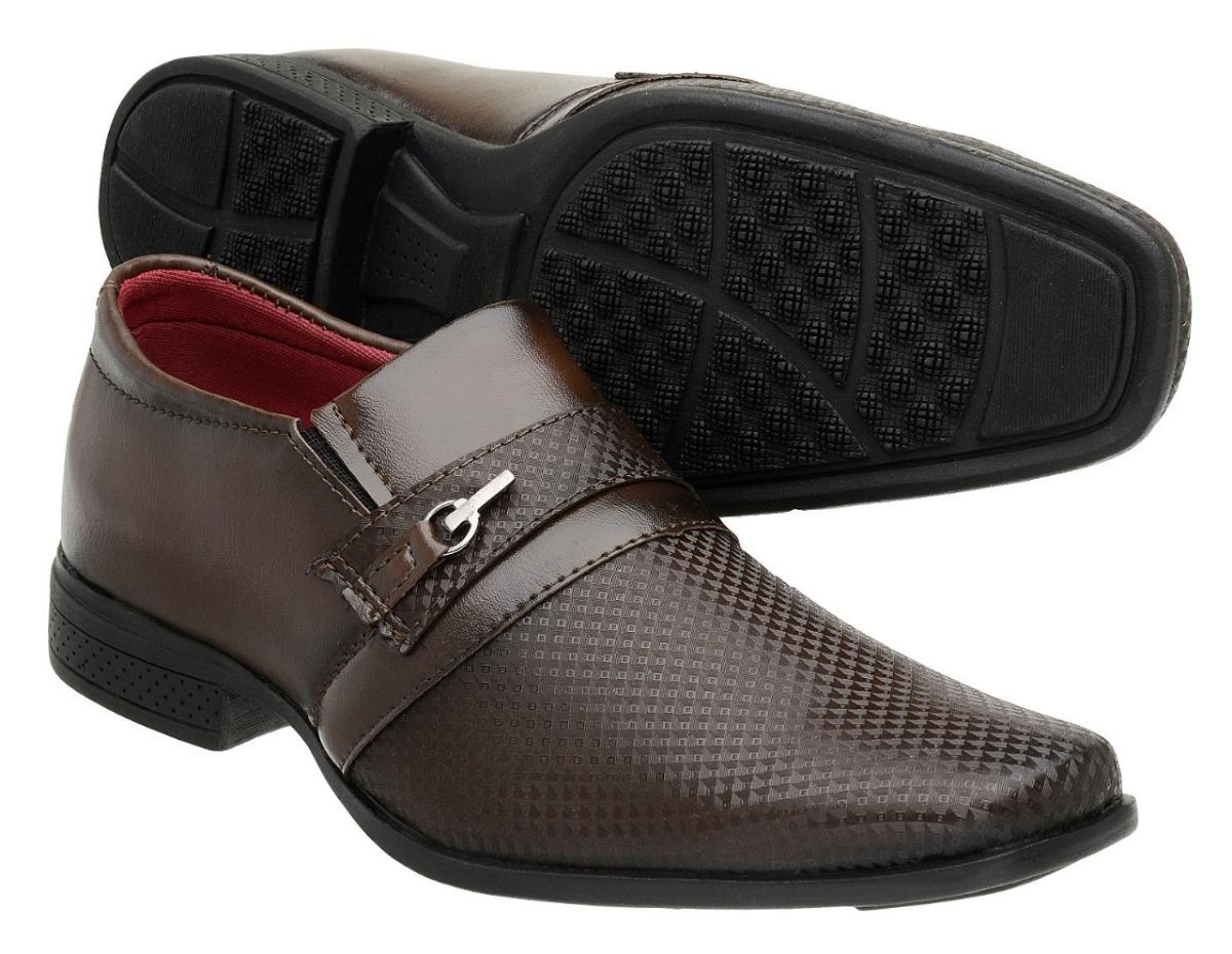 64fa0be47 Sapato Social Masculino Kit3 Pares Promoção Imperdivel - R  100