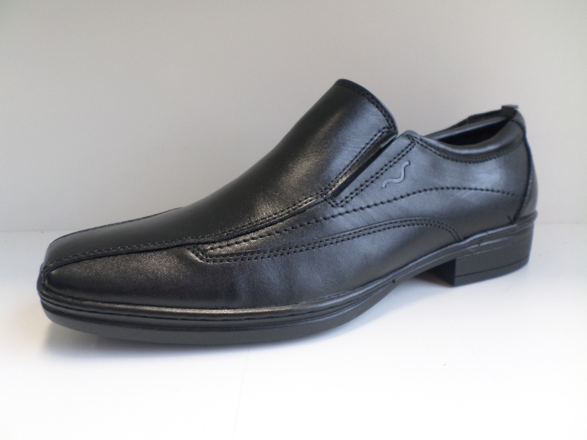 43d36670d Sapato Social Masculino Mariner Couro - R$ 169,90 em Mercado Livre