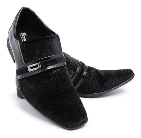 526735008f Sapato De Casamento Masculino Em Verniz Preto Rafarillo - Sapatos com o  Melhores Preços no Mercado Livre Brasil
