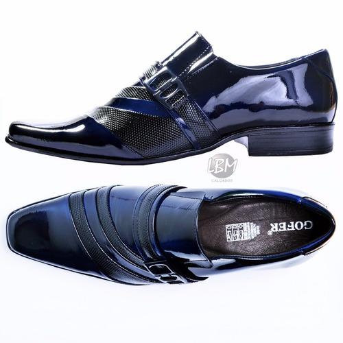 6148fe854 Sapato Social Masculino No Atacado 2 Pares Promoção - R$ 299,79 em ...