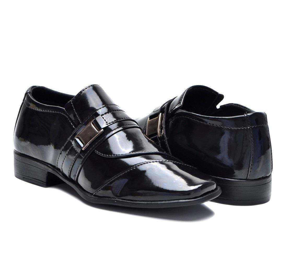 aab9e627e sapato social masculino preto verniz infantil para criança. Carregando zoom.