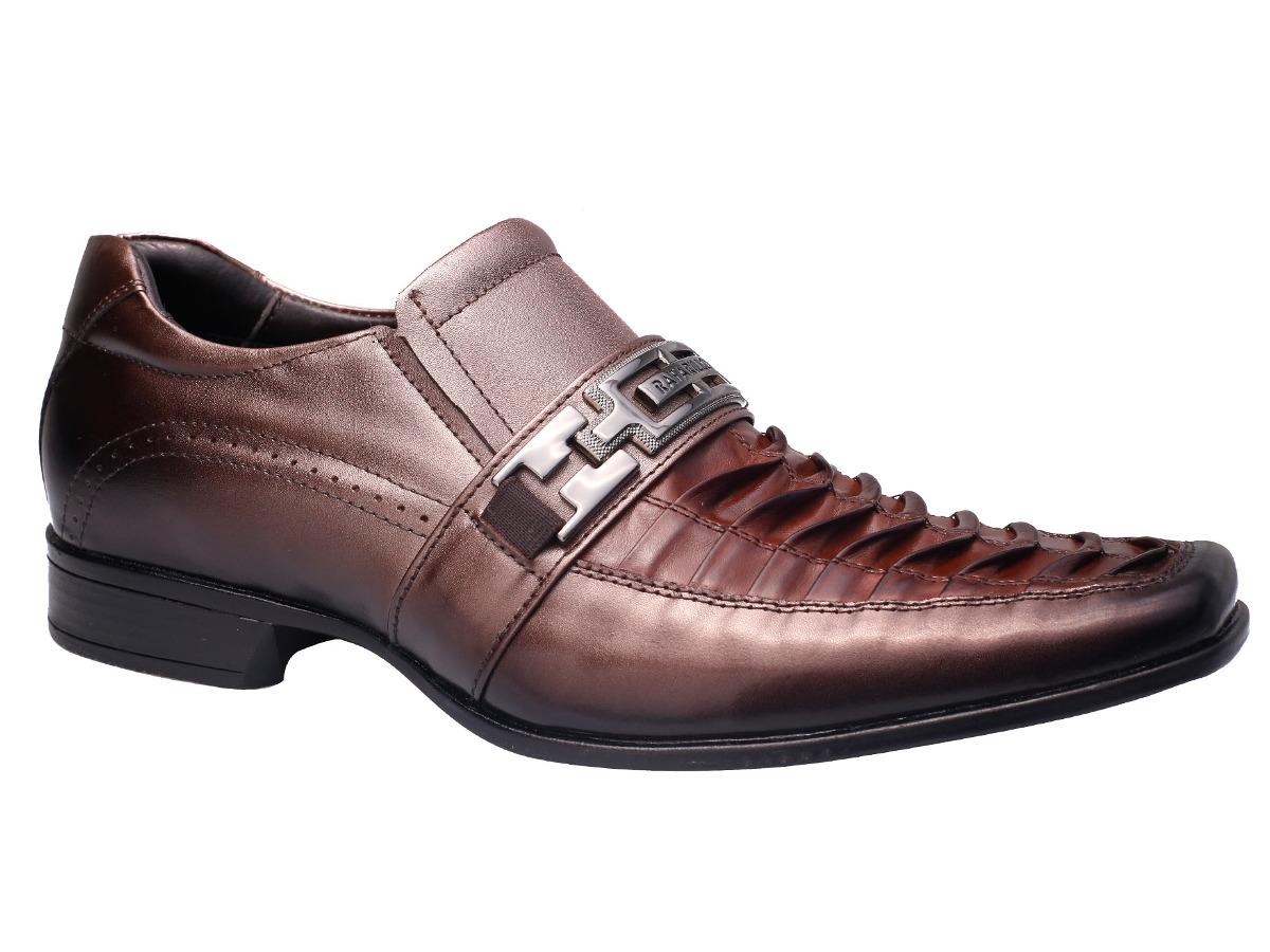 65b8d7790 Sapato Social Masculino Rafarillo Las Vegas - Marrom - R$ 219,00 em ...