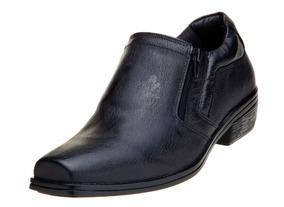 2963d2342 Sapato Social Masculino Sandi Calçado De Couro E Zíper