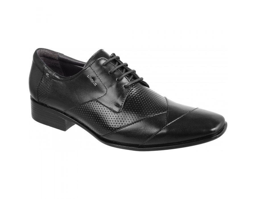 f0a040023 Sapato Social Masculino Sândalo Vermont Couro Preto - R$ 249,90 em ...
