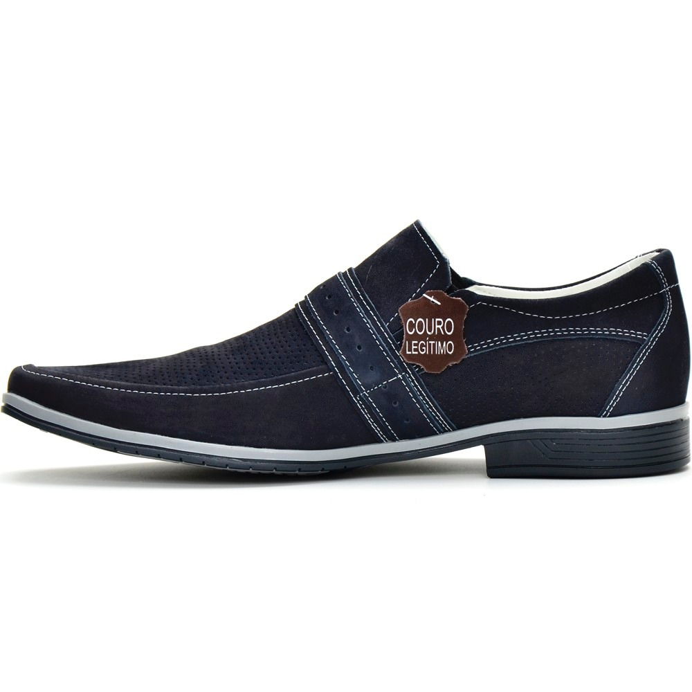 dc3a52190 sapato social masculino stilo italiano em couro legitimo dhl. Carregando  zoom.