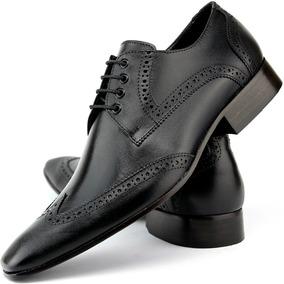 806cb7f7b Sapato Social Masculino Italiano Marrom - Calçados, Roupas e Bolsas no  Mercado Livre Brasil