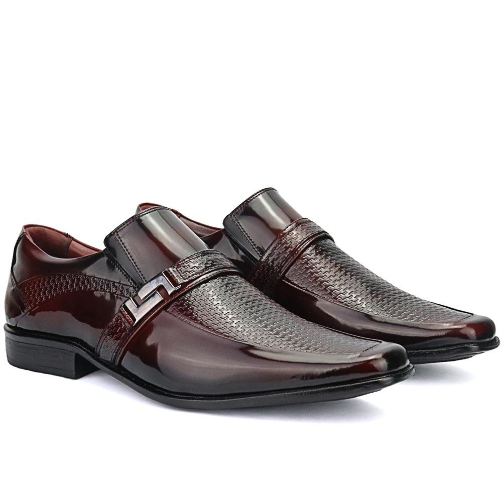 15169e7ca3 sapato social masculino top 100% couro legitimo verniz. Carregando zoom.