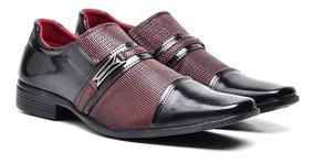 ed087d1f2 Sapato Social Brilhante Masculino - Calçados, Roupas e Bolsas com o  Melhores Preços no Mercado Livre Brasil