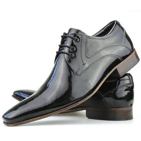 55c517a8c Sapato Social Masculino Verniz Confort Frete Grátis Dhl Calç