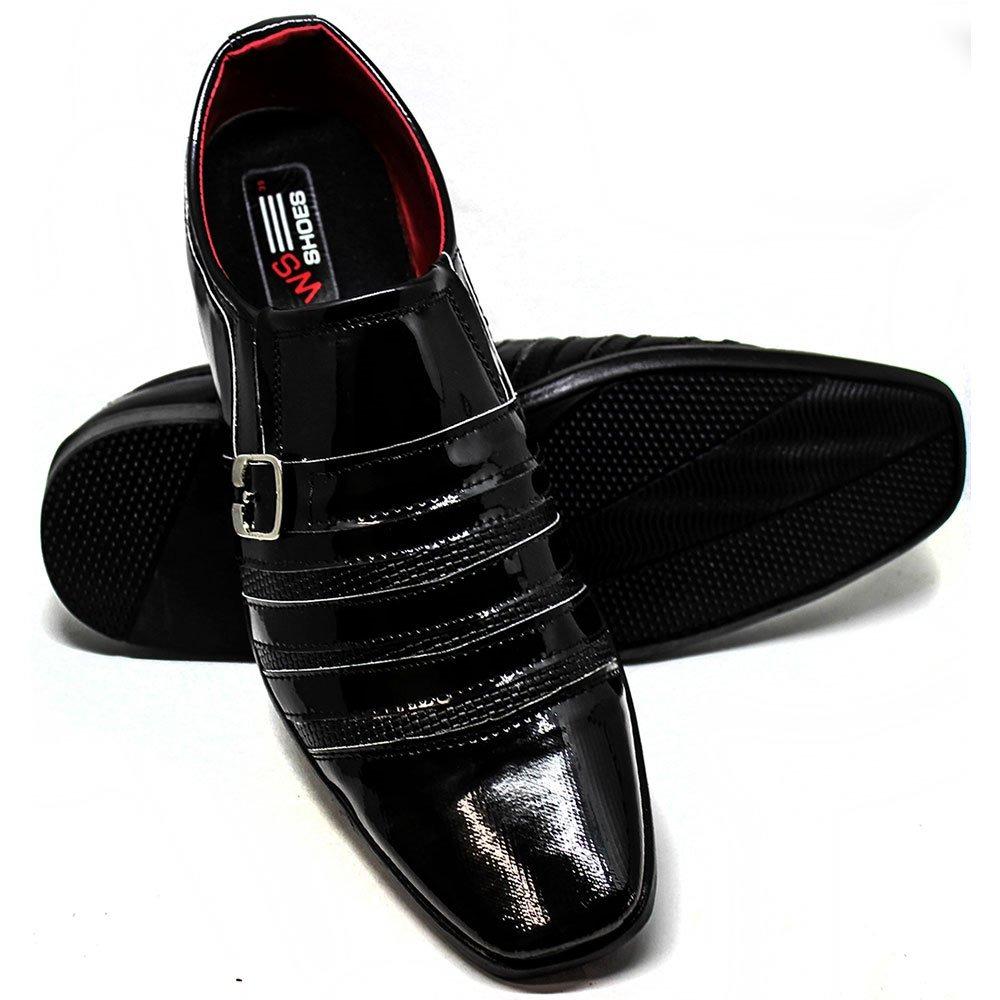 43cbcb8cc sapato social masculino verniz muito barato + brinde. Carregando zoom.