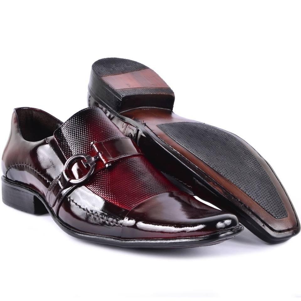 642fb7ed96 sapato social masculino verniz vinho luxo casamento formando. Carregando  zoom.