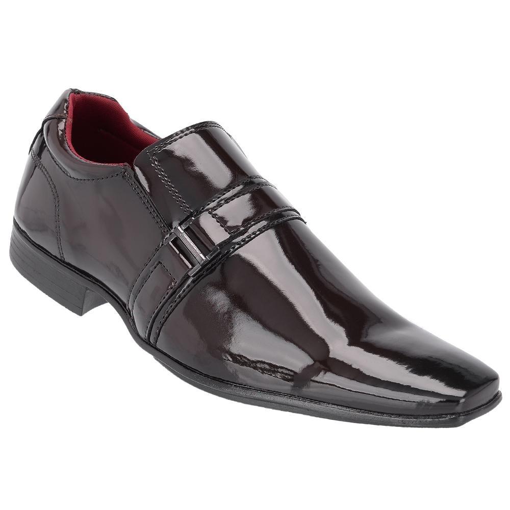 d20907396b sapato social masculino vêrniz fechamento elástico khaata. Carregando zoom.
