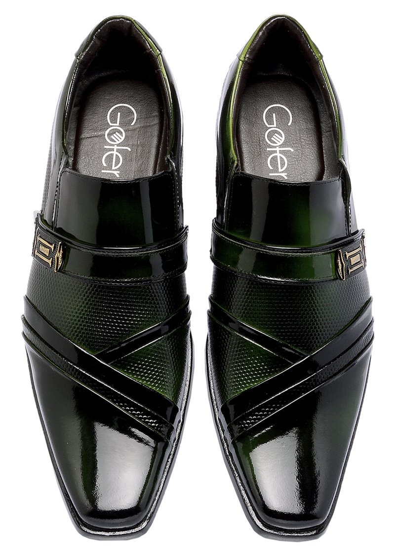 17c3f5a92 sapato social moda 2018 masculino em couro + brinde. Carregando zoom.