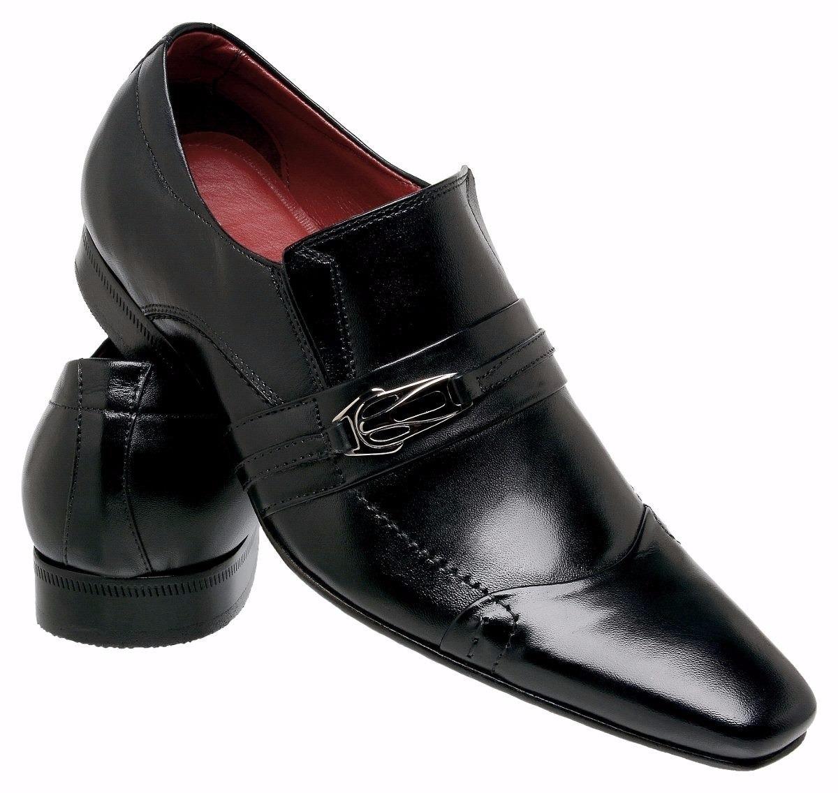 7e1542ca79 Sapato Social Modelo Italiano Paulo Vieira Ref 405 - R$ 185,00 em ...