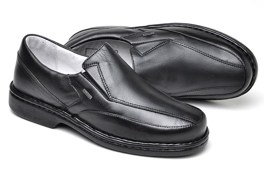 2b40eab29 sapato social ortopédico masculino preto café branco 570. Carregando zoom.