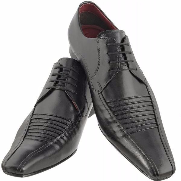 e3e5eddc9 Sapato Social Paulo Vieira 401 Vegetal Preto - R$ 175,90 em Mercado ...