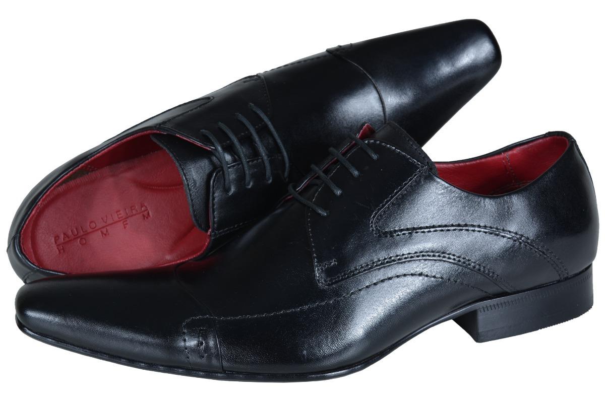 ed2cf743da sapato social paulo vieira 405 curve preto frete grátis. Carregando zoom.