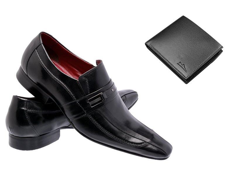 5f8b6a99e1 sapato social paulo vieira masculino em couro legitimo. Carregando zoom.