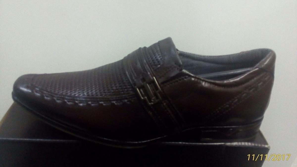 944e74ab1f Sapato Social Pegada 22209-02 Marrom Cafe - R$ 195,00 em Mercado Livre