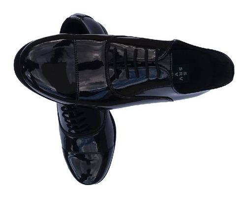 sapato social preto palmilha kit 02 pares
