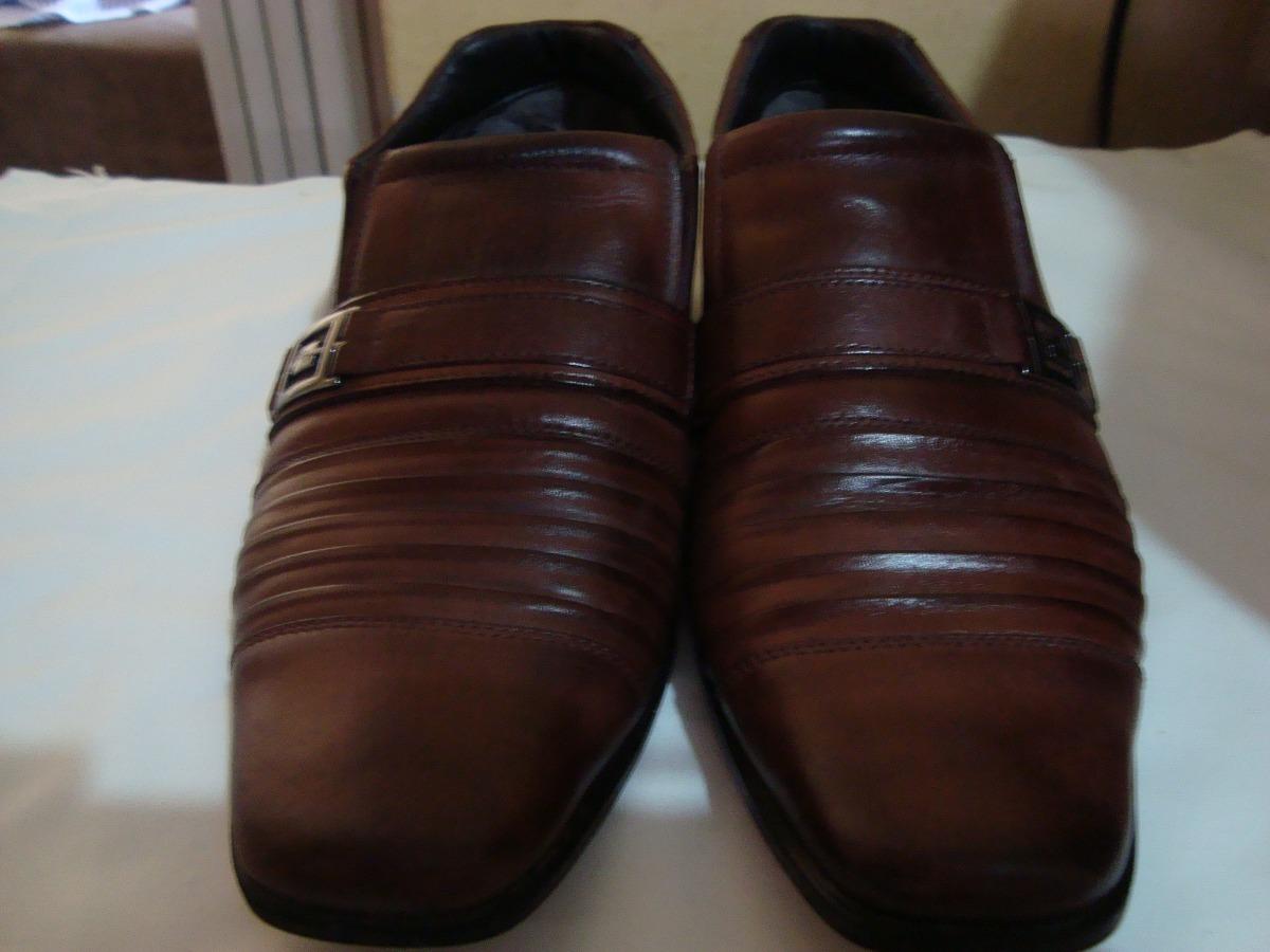 391fac460 sapato social rafarillo, masculino marrom, 41 usado r$150,00. Carregando  zoom.