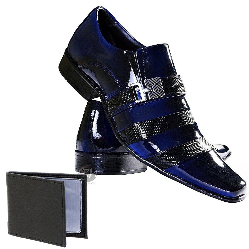 e7e8216db Sapato Social Raro Top Masculino Em Couro + Brinde - R$ 169,40 em ...