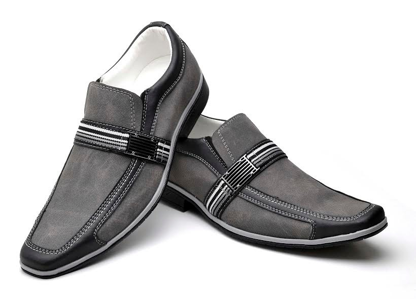 53e054abbc sapato social rutilo masculino promoção cinza novo habito. Carregando zoom.